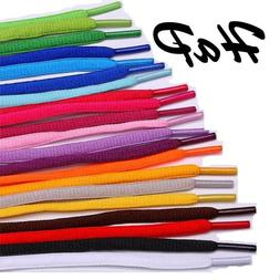 OVAL ROUND Shoelaces for Nike Jordan AIR Adidas Shoe laces s