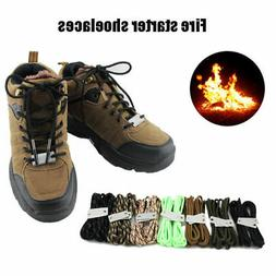 Firecord Shoelaces Fire Tinder Climbing Camping Survival Equ
