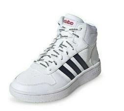 adidas Hoops Mid 2.0 Shoes Mid Top Black White Adidas repeat