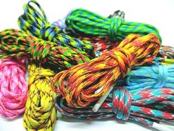 Multicolor Rope Shoe Laces For Air Max Asics ACG Keen Salomo