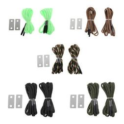 Multifunction Survival Hiking Boot Lace String Emergency Fli