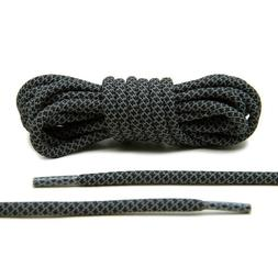 """NEW Black Reflective 3M Rope Shoe Laces 45"""" for Boost Adidas"""