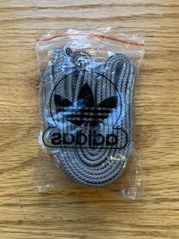 NEW Adidas Flat Replacement Shoe Laces Shoelaces Light Grey