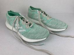 Adidas Pure Boost Go Shoes Womens Size 10 Worn Twice Green G
