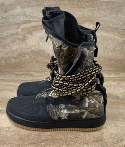 Nike SF AF1 Air Force One Real Tree Camo High Top Shoes Snea