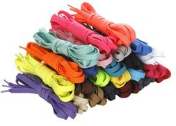 Shoelaces For Shoes,boots,sneakers. White, Black, Multicolor
