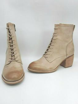 Patricia Nash Sicily Women Shoes Lace up Leather Booties Ivo