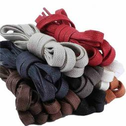 Sneaker Flat Shoelaces Hiking Boots Shoe Strings Colored Sho