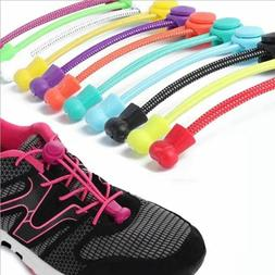 Stretching Lock lace 23 colors Locking Shoe Laces Elastic Sn
