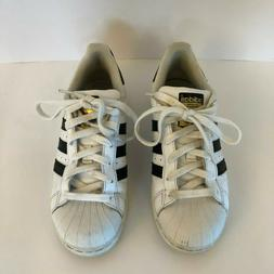 Adidas SuperStar Kids Shoes C77154 US Size 4 Sneakers White