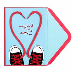 PAPYRUS Valentine's Day Card - For SON Converse Sneaker Sh