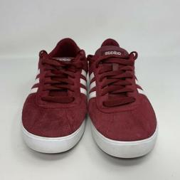 Women's Adidas Courtset Sneaker Red White Shoe Lace Up Size