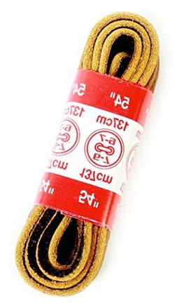 Kiwi 45inch Yellow; amp; Brown Outdoor Shoe Laces 664-058 -